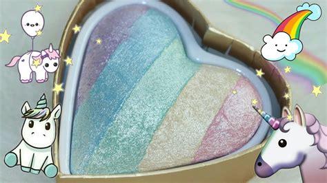 Limited Edition I Makeup Unicorns Terlaris rainbow highlighter review unicorn hearts vs essence rival de loop limited edition
