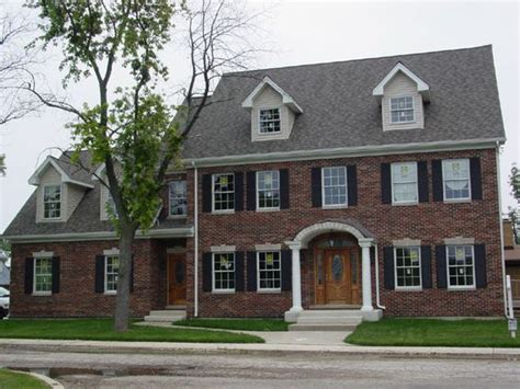 portico on colonial house colonial style brick home with elliptical arch portico
