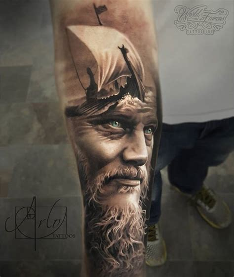 tattoo pictures of vikings king ragnar viking ship best tattoo ideas designs