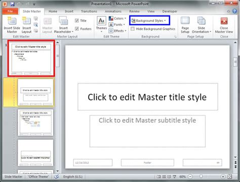 how to change master template in word 2010 cover letter