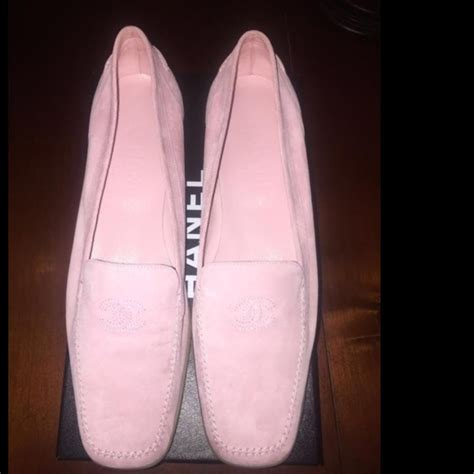 53 chanel shoes pink chanel loafers moccasins