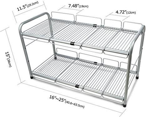 expandable under organizer surpahs under 2 tier expandable organizer