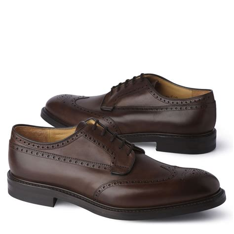 church s grafton r lace up derby shoes in brown for lyst
