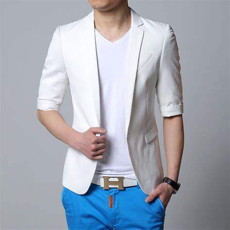 Best Blazer Casual White Putih 1 buy wholesale mens summer blazer from china mens