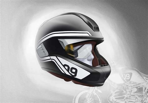Bmw Motorrad Helmet With Head Up Display by Bmw Motorrad Presents Concepts For Motorcycle Laser Light
