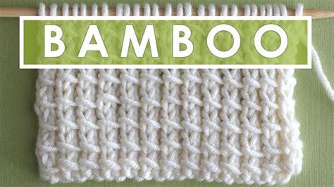 bamboo knit stitch bamboo knit stitch pattern