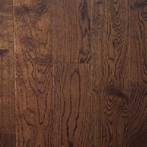 white oak mocha solid prefinished hardwood flooring