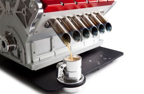 V12 espresso machine references formula one engines