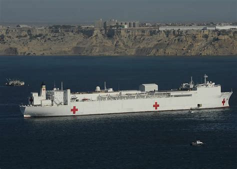 usns comfort location ark royal hospital ship