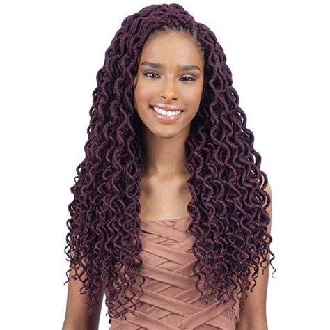 shops in atlanta that braid hair using freetress bohemin by crochet freetress braid crochet hair soft curly faux locs 18