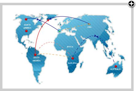world map visio custom network maps network mapping tool business