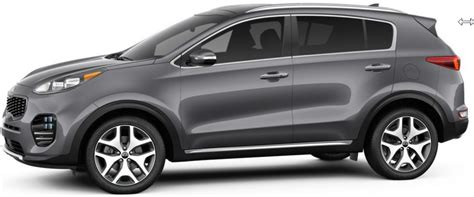 kia sportage silver 2017 kia sportage color options