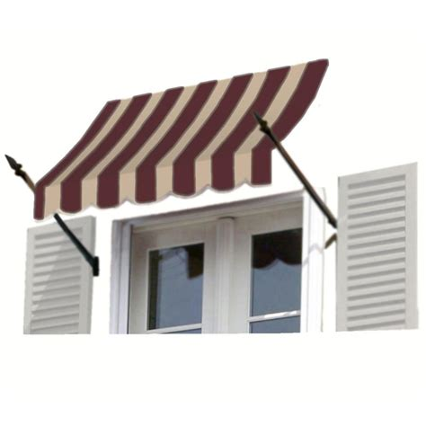 16 Ft Awning by Awntech 16 Ft New Orleans Awning 56 In H X 32 In D In