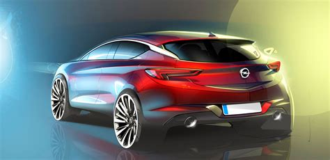 opel cars 2016 2016 opel astra design sketch car body design