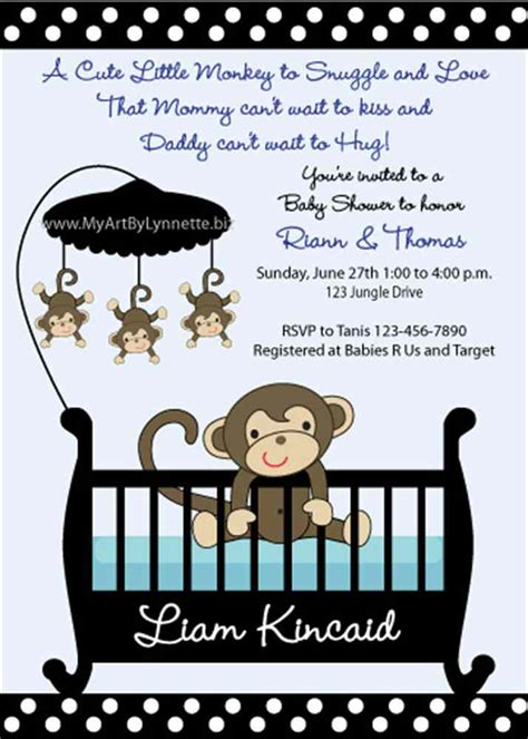 monkey templates for baby shower invites free monkey baby shower invitations templates free theruntime com