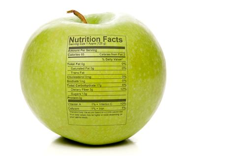apple nutrition facts nutrition facts of an apple