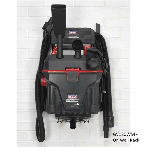 Wall Mounted Garage Vacuum Cleaner by Sealey Wall Mounted Garage Vacuum Cleaner