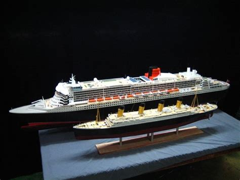 titanic vs big boat titanic vs queen mary loquehagafalta pinterest
