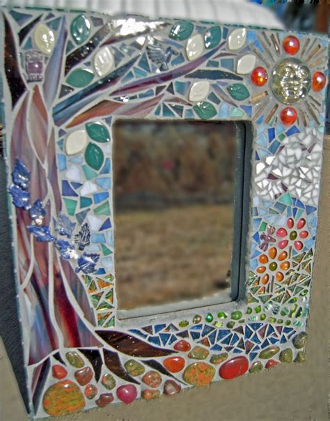 how to frame a bathroom mirror with mosaic tiles 1000 ideas about mosaic mirrors on pinterest mosaic