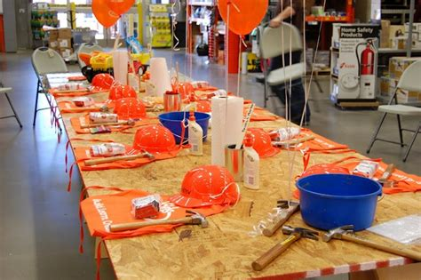 home depot construction table kid