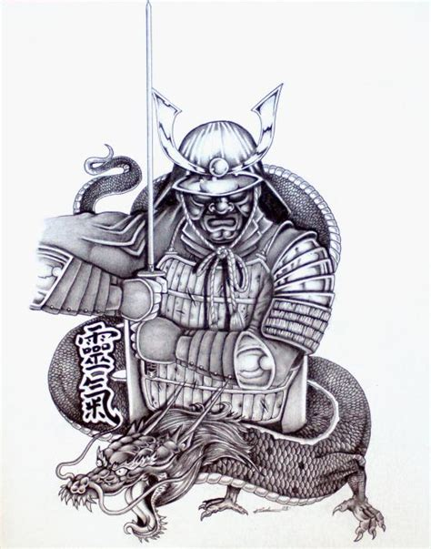 traditional japanese samurai tattoo designs samurai tattoos