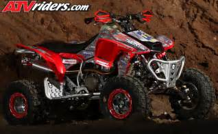 Honda Atv 450r Jarrod Mcclure S Worcs Racing Honda Trx 450r Atv Project Build
