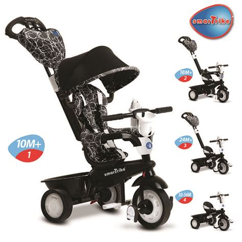 Luxury Culture 4in1 Vl27093 transformative stroller trikes smart trike