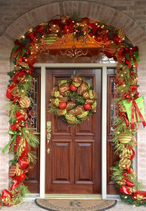 front door decorations front door holiday decorations thompson creek window company