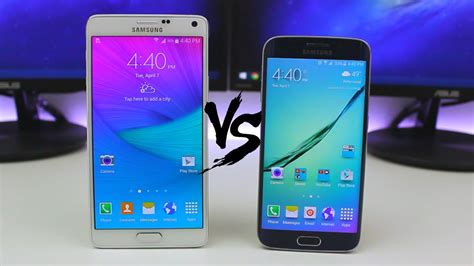 Samsung Galaxy S6 Vs Note 5 Galaxy Note 5 Vs Galaxy S6 Is This A Conflict To Believe