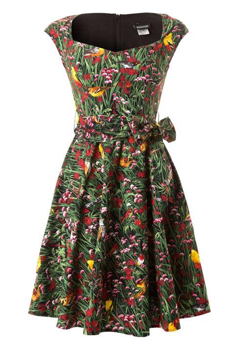 Birdie Dress 50s birdie birdie swing dress