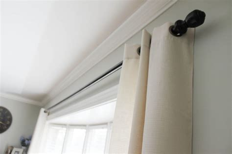 extra long drapery rod extra long curtain rods 17 best ideas about shower rod on