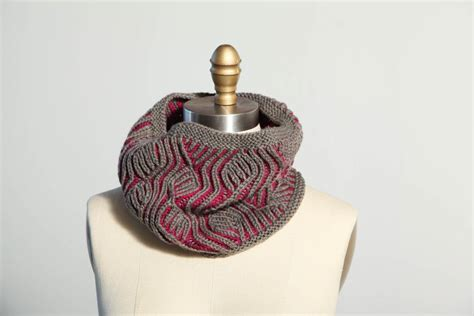 you to see two color brioche vine cowl by mercedes