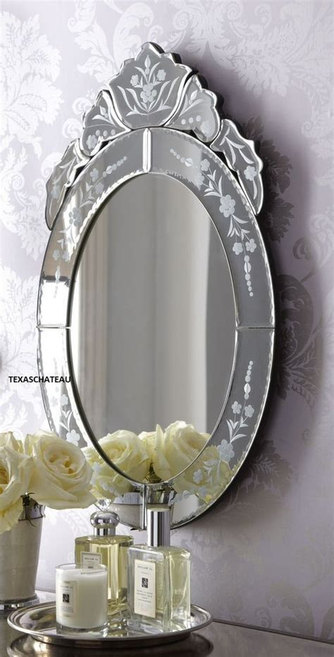 french style bathroom mirror ornate antique french venetian style oval wall mirror
