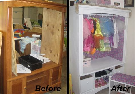 princess dress up closet before after products i