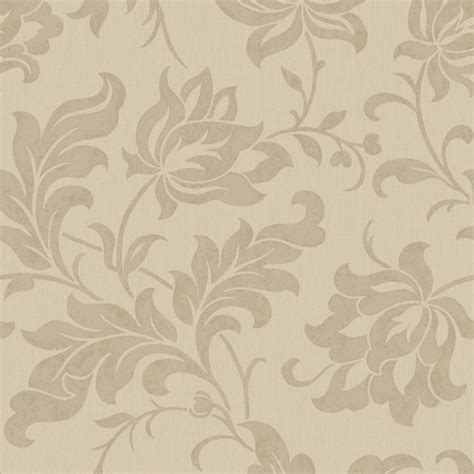 modern floral wallpaper adeline floral pattern wallpaper beige sle
