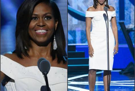 michelle obama zac posen dress michelle obama in zac posen at 2015 black girls rock event
