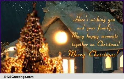 happy moments  christmas  religious blessings ecards