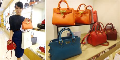 Black Blue Morpho Tote M Bonia bonia handbags catalogue handbag collections
