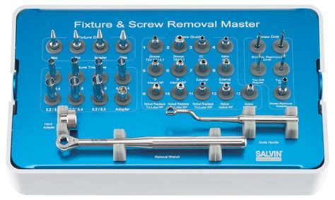 Dental Surgical Implant Kit Surgery Broken Implant Remover Repai Salvin Dental Specialties Salvin Implant Rescue Kit