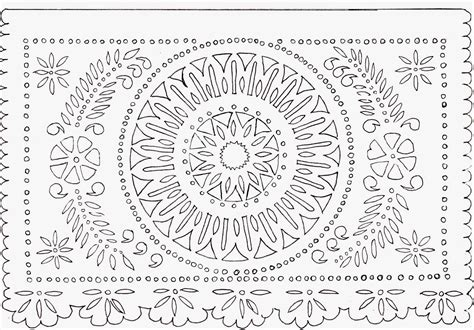 Introducing New Worlds With A Shrug Make This Papel Picado Free Printable Papel Picado Template