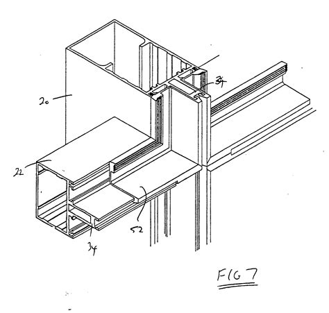curtain wall parts patent ep0399778a1 improvements in and relating to