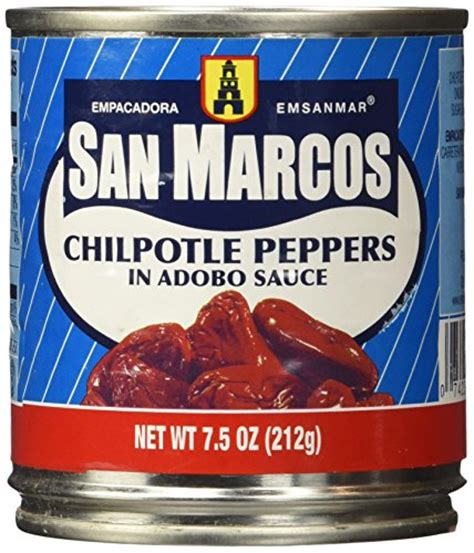 Definition Chipotle Chile by San Marcos Chipotle Peppers In Adobo Sauce 7 Ounces