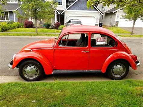 Beetle Volkswagen For Sale by 1972 Volkswagen Beetle For Sale Classiccars Cc 988461