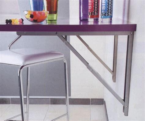 table de cuisine rabattable les supports de table rabattables cuisines laurent