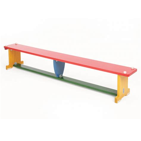 school gym benches activbench multicoloured wooden gym bench