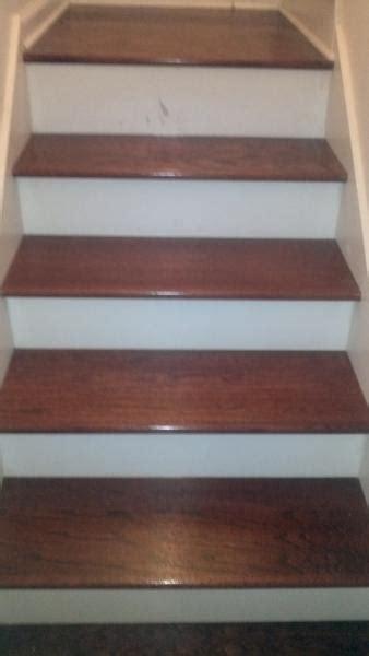 plywood landings  stairs
