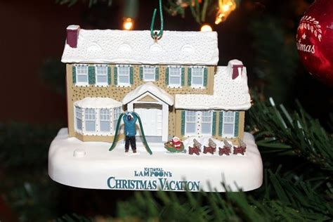 house  fire clark christmas vacation hallmark christmas christmas ornaments