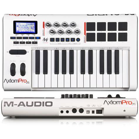 format audio midi m audio axiom pro 25 image 619794 audiofanzine