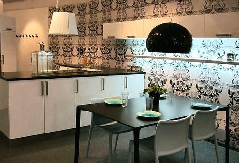 contemporary kitchen wallpaper ideas какие обои лучше всего выбрать для кухни