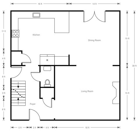 house floor plan with dimensions home exterior design kids math teacher math activities with walls